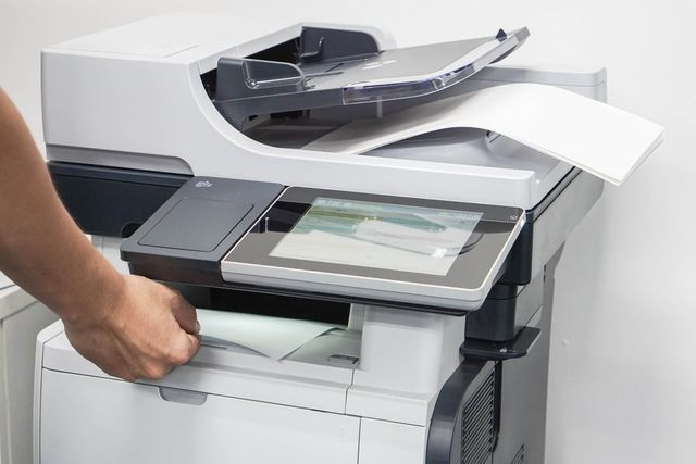 macchina fotocopiatrice