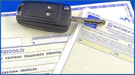 Chiave e documenti auto