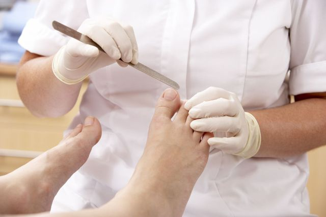 Foot treatment in foot clinic in Highpoint, NC