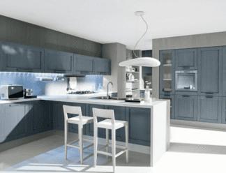 cucina laccato bianca