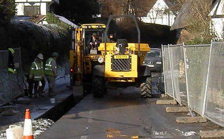 sewage repair equipment