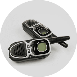 Digital radios for hire