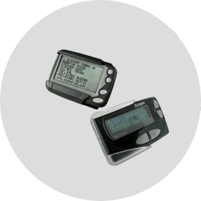 Pagers with specialist features