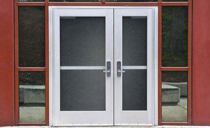 A large door