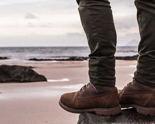 Scarpe marrone per il tempo libero