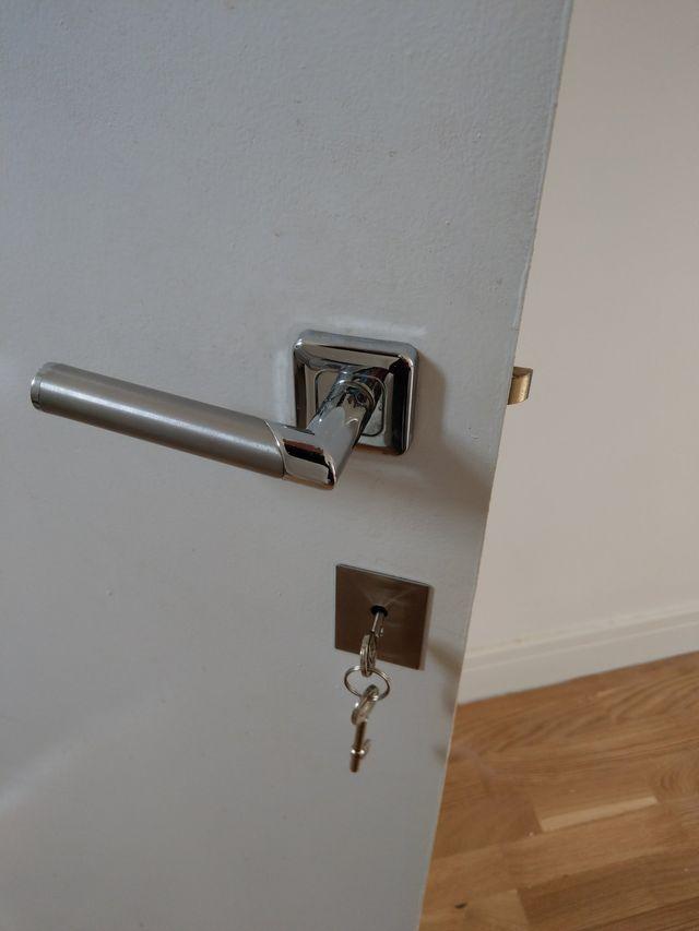 Bedroom door installation