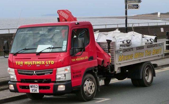 7.5 ton Canter truck