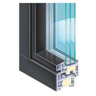 Finestre in PCV con rivestimento in alluminio