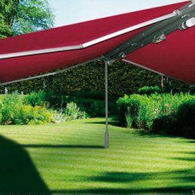 Free-standing awnings