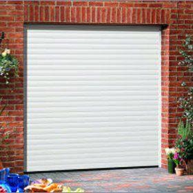 Roller garage doors