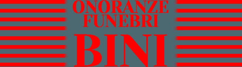 Onoranze Funebri BINI - LOGO