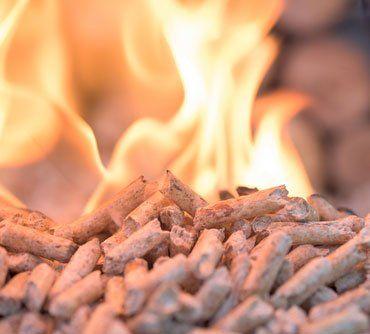 pellet in fiamme