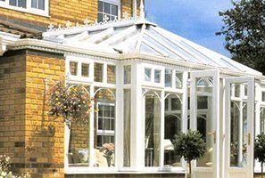A stylish conservatory
