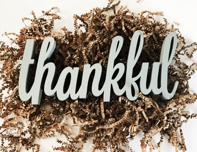 Thankful Sign Review