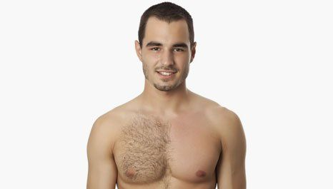 waxing chest hair