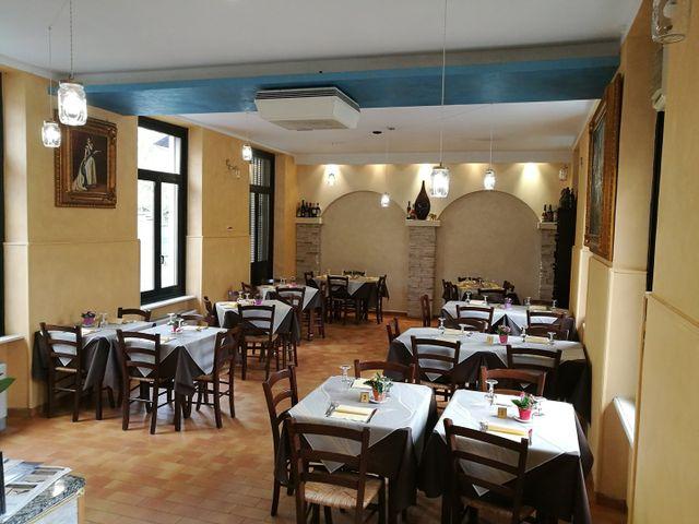 Vista interna del ristorante Ristorante Al Ponte Di Levrano Giuseppe a Villanova Canavese