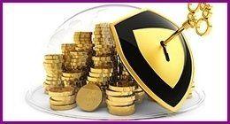 monete chiuse a chiave