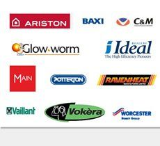 Heating systems - Bury, Greater Manchester - K J P Heating Spares - logos