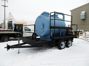 North slope lube tank