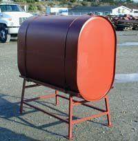 Obround tank stand