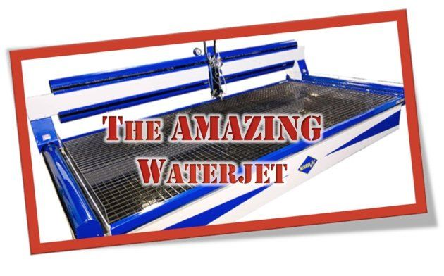 3 Advantages of Waterjet Cutting