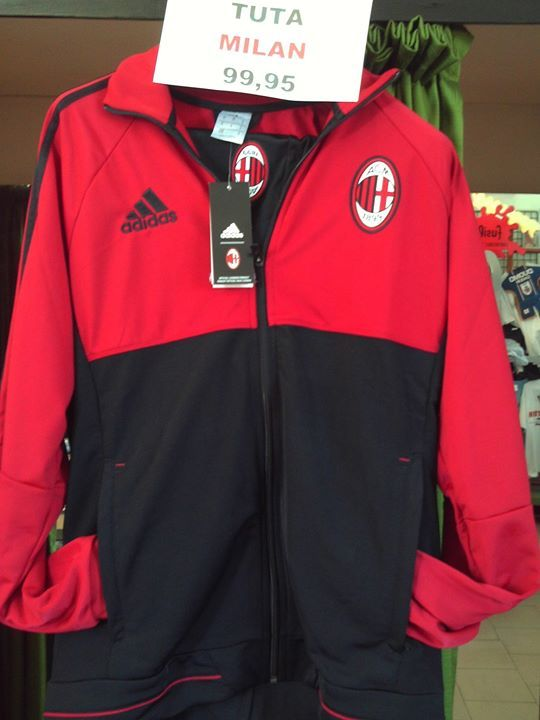 Milan tuta panchina 2017/18