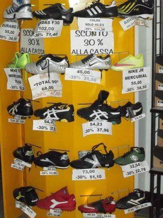 Promozione 30% sulle scarpe calcio a 5