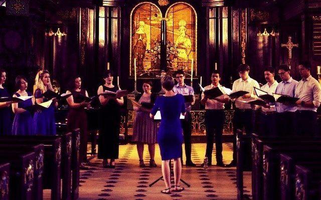 echo choir sing