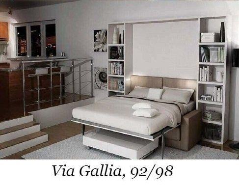 LETTI A SCOMPARSA A ROMA-VIA GALLIA 92,98 - MINI CUCINE ...