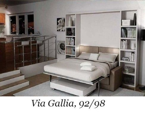 Letti A Scomparsa A Roma Via Gallia 92 98 Mini Cucine Armadi E Dintorni