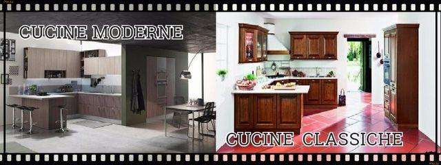 Cucine Moderne E Classiche Su Misura.Cucine Monoblocco A Roma Via Gallia 92 98 Arredo Cucine