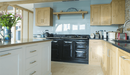 appliances in kitchen repaired