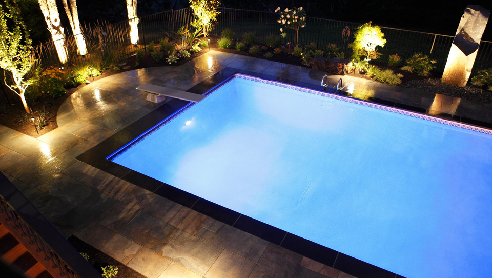 outdoor LED lighting pool