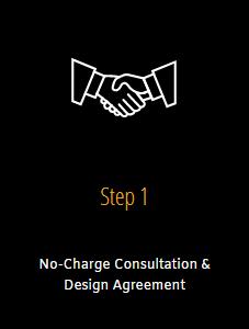 Step 1 Consultation & Design Agreement