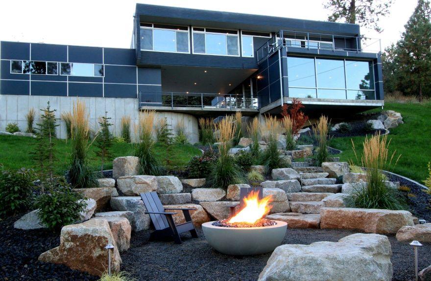 backyard bowl fire pit