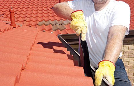 domestic gutter cleaning service