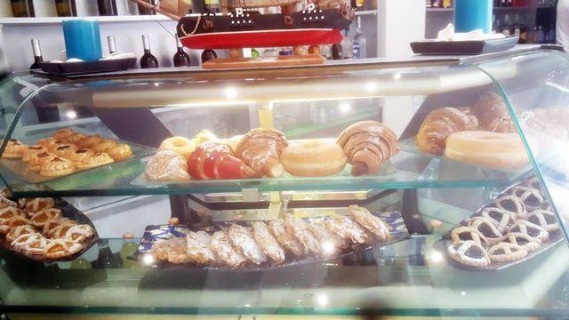 Dolci per colazioni del bar Il Panfilo di Roma