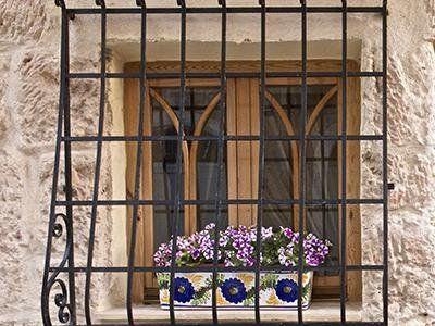Inferriate per porte e finestre - Milano - Eredi di Guerrini Geom. Luigi