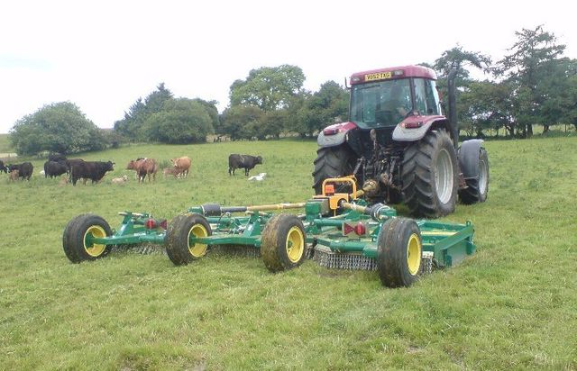 Agricultural plant hire