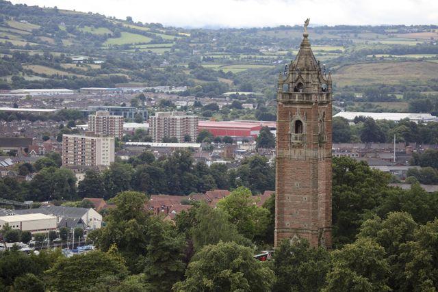 Bristol city landscape