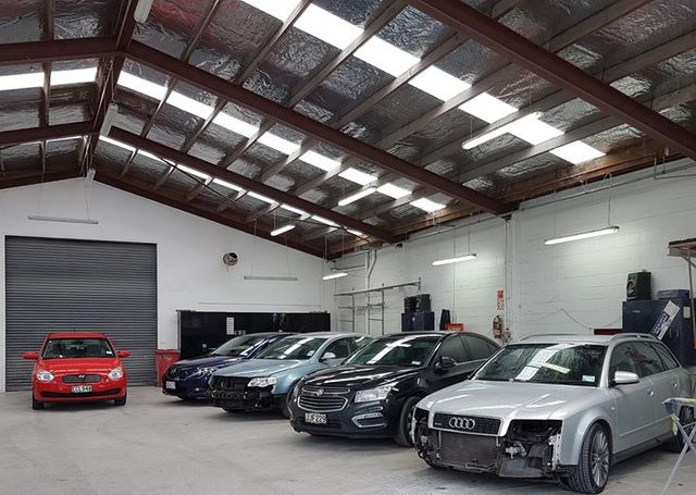 Car for servicing in our shop in Hamilton, NZ