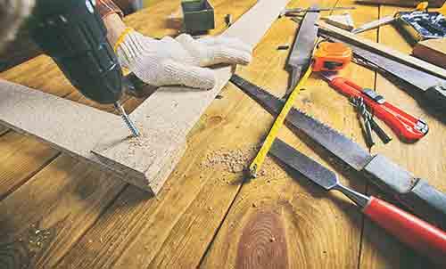 elementi speciali di legno