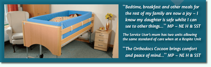 Cocoon bed rail