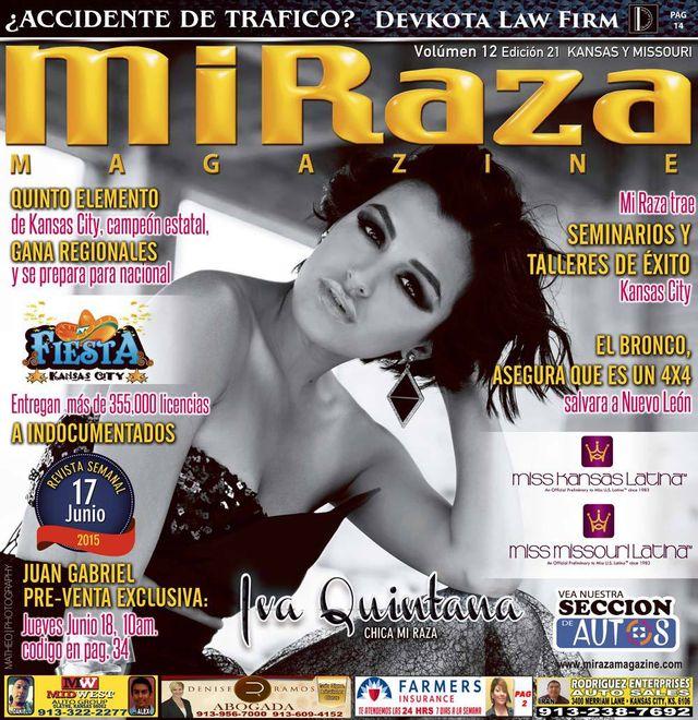 Edicion digital Mi Raza junio 17 - Iva Quintana