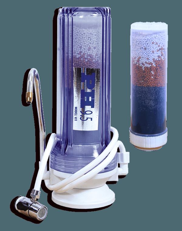 Filtro de agua alcalina