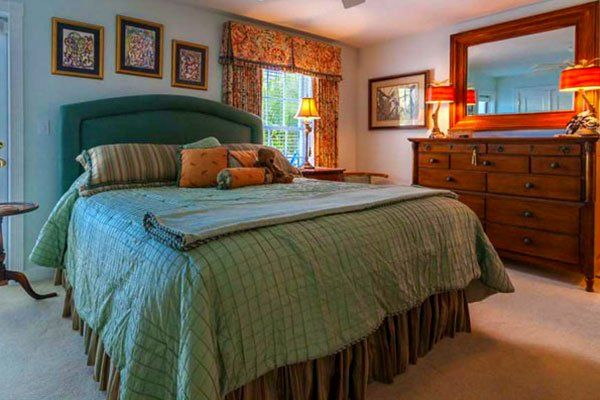 Custom Bedding   Zubek Interiors - Key West, Florida