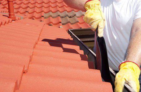 guttering roof