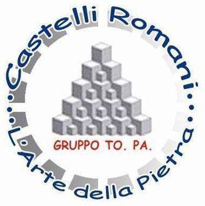 CASTELLI ROMANI - L'ARTE DELLA PIETRA - LOGO