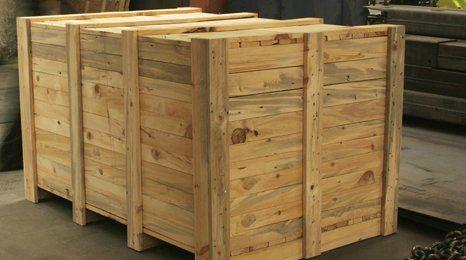 wooden cartons