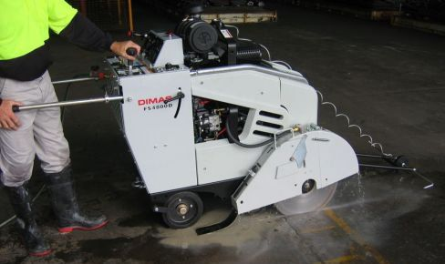 hardcut concrete sawing and drilling road sawing equipment